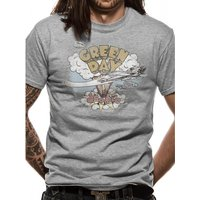 Green Day - Dookie Men's XX-Large T-Shirt - Grey