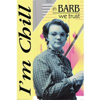Stranger Things - In Barb We Trust Maxi Poster