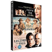 Mona Lisa Smile & Tea With Mussolini & Legends Of The Fall DVD