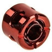 Monsoon 13/10mm (ID 3/8 OD 1/2) Free Center Compression Fitting Red