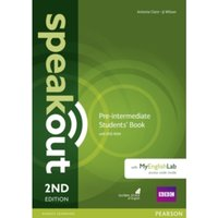 Speakout Pre-Intermediate 2nd Edition Students' Book with DVD-ROM and MyEnglishLab Access Code Pack by J. J. Wilson, Antonia...