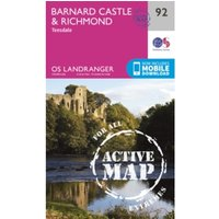 Barnard Castle and Surrounding Area: 2016 by Ordnance Survey (Sheet map, folded, 2016)