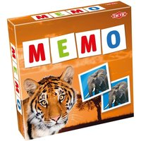 Memo Wild Animals Wildlife Game