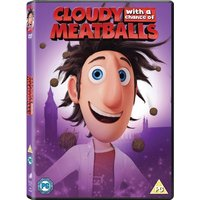 Cloudy With A Chance Of Meatballs DVD