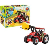 Tractor with Loader and Figure 1:20 Scale Level 1 Revell Junior Kit