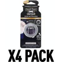 Midsummers Night (Pack Of 4) Yankee Candle Smart Scent Vent Clip