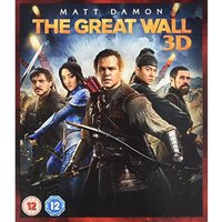 The Great Wall 2D 3D Blu-ray