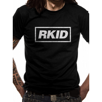 Liam Gallagher - Rkid Black Design Men's Large T-Shirt - Black