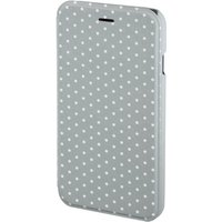 Apple iPhone 6/6s Luminous Dots Booklet Case (Grey/White)