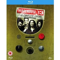 Warehouse 13: The Complete Series 1-5 Blu-ray