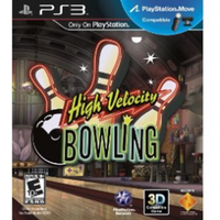 High Velocity Bowling (Move Compatible) Game