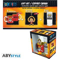 One Piece - Luffy (Glasses + Keyring + Mini Mug) Gift Box