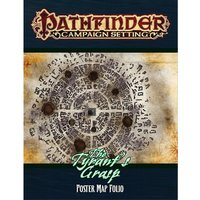 The Tyrant's Grasp Poster Map Folio: Pathfinder Campaign Setting