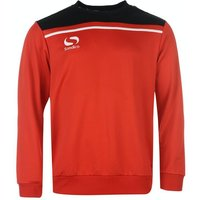 Sondico Precision Sweatshirt Adult Large Red/Black