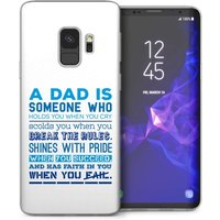 CASEFLEX SAMSUNG GALAXY S9 PLUS DEFINITION OF A DAD QUOTE CASE / COVER (3D)