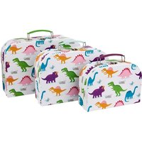 Sass & Belle Roarsome Dinosaurs Suitcases (Set of 3)