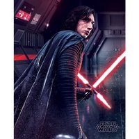 Star Wars The Last Jedi - Kylo Ren Rage Mini Poster