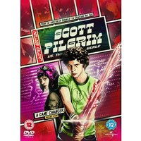 Scott Pilgrim Vs The World Reel Heroes Sleeve DVD