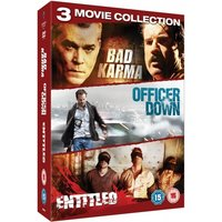 Crime Triple Pack Bad Karma / The Entitled / Officer Down DVD