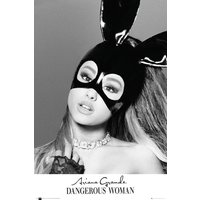 Ariana Grande Mask Poster