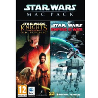 Star Wars Mac Pack Includes Knights Of The Old Republic & Empire At War Game