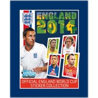 England 2014 Stickers (100 Packs)
