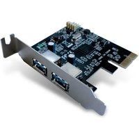 Dynamode 2-Port Super Speed USB3.0 PCIe (Express) Card Low profile