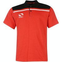 Sondico Precision Polo Adult Large Red/Black lowest price