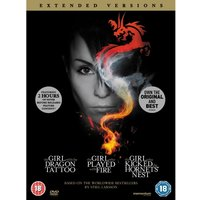 The Girl Who Millennium Trilogy Extended Versions Swedish DVD