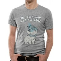 Rick And Morty - Snuffles Men's XX-Large T-Shirt - Grey