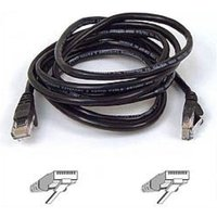 Belkin Cat5e Snagless UTP Patch Cable (Black) 5m