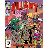 Villainy Doom-dealer Doers of Dastardly Deeds Board Game