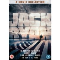 Jack Ryan 4 Movie Collection DVD