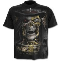 SteamPunk Reaper Men's X-Large T-Shirt - Black