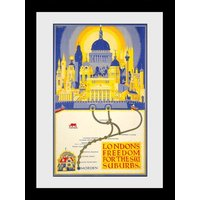 Transport For London Londons Freedom Framed Collector Print