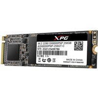 ADATA 256GB XPG SX6000 PRO M.2 NVMe SSD, M.2 2280, PCIe, 3D NAND, R/W 2100/1200 MB/s