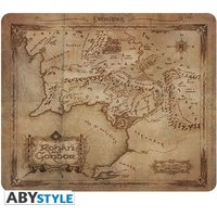 Lord Of The Ring - Rohan & Gondor Map Mouse Mat