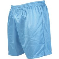 Precision Micro-stripe Football Shorts 42-44 inch Sky Blue