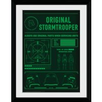 Stormtrooper Technical Readout Collector Print