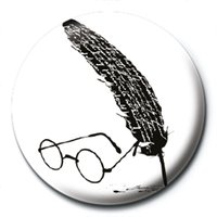 Harry Potter - Glasses & Feather Badge