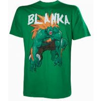 Capcom StreetFighter Men's Blanka X-Large T-Shirt - Green