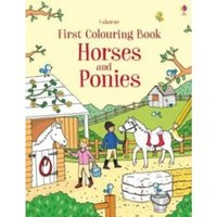 First Colouring Book Horses and Ponies