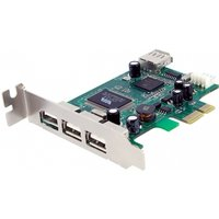 4 Port PCI Express Low Profile High Speed USB Card