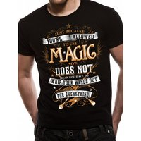 Harry Potter - Magic Wands Men's X-Large T-Shirt - Black