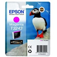 Epson C13T32434010 (T3243) Ink cartridge magenta, 980 pages, 14ml