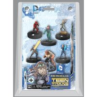 DC Heroclix Teen Titans Fast Forces Pack Of 6