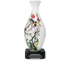 Singing Birds & Flowers Finches Puzzle 3D Vase Jigsaw