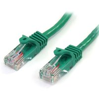 StarTech Cat5e Patch Cable with Snagless RJ45 Connectors 3m Green