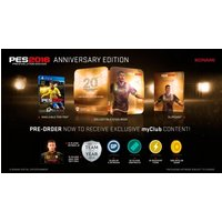 Pro Evolution Soccer 2016 20th Anniversary Edition PS4 Game