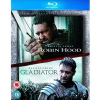 Robin Hood / Gladiator Double Pack Blu-ray